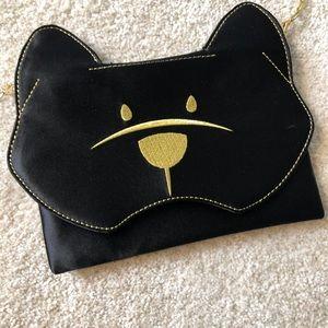 NWOT BCBG black bear crossbody bag